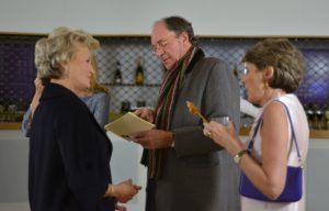 NEBT Chairman Kiki Mc Donough and Co-Vice Chair, Lady Chadlington Gala Reception 2016