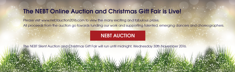 The NEBT Online Auction and Christmas Gift Fair is Live!
