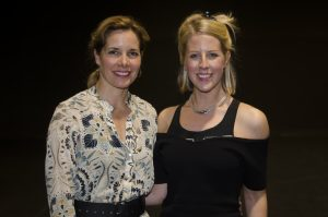 Dame Darcey Bussell and Jenna Lee. Photo Alexander Yip