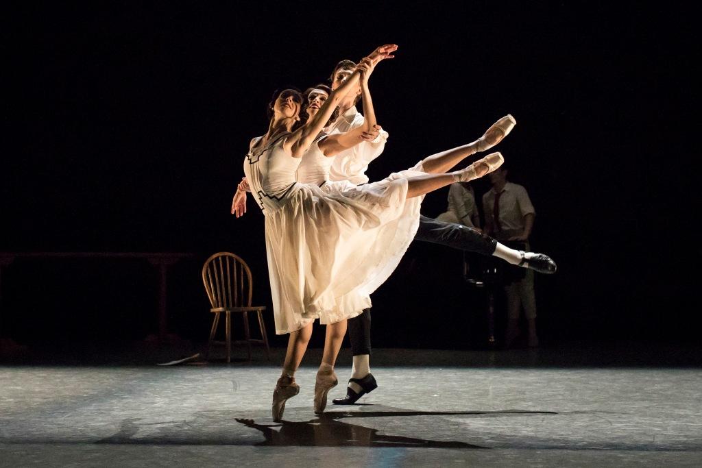 Jeux, chor. Wayne Eagling. Helen Maybanks - Royal Opera House - ArenaPAL