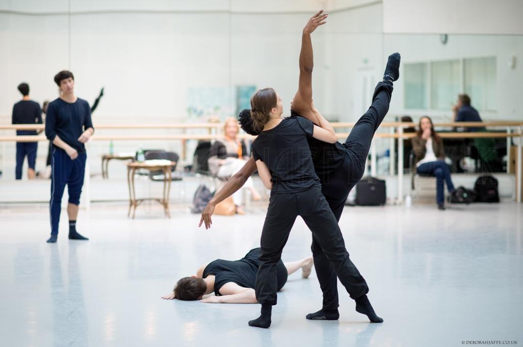 New Works Rehearsals. Photo Deborah Jaffe