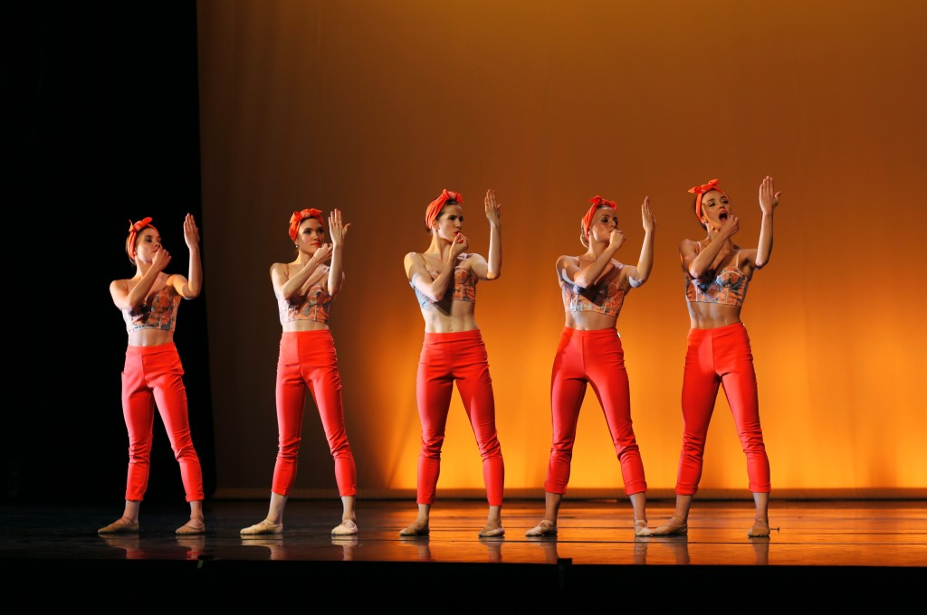 Mad Women, chor. Kristen McNally Photo Thierry Fonteyne